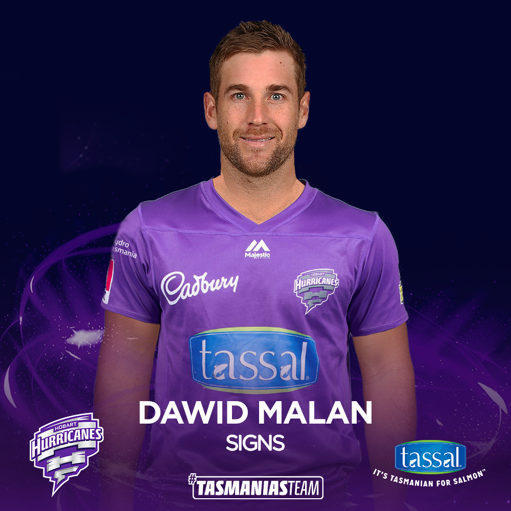 Dawid Malan signs on for BBL|10 | Hobart Hurricanes - BBL
